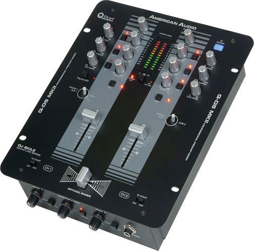 The American Audio Q-D5 MKII mixer
