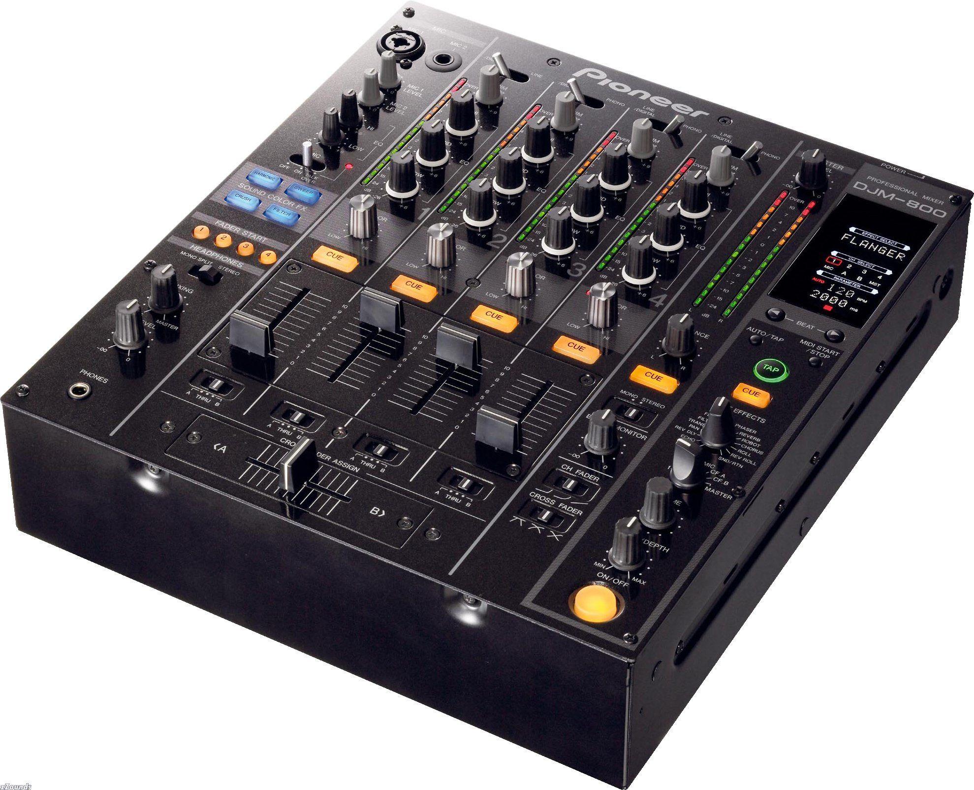 The Pioneer DJM-800 DJ mixer - DJing Tips
