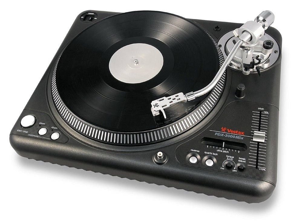 The Vestax PDX-3000Mix vinyl turntable