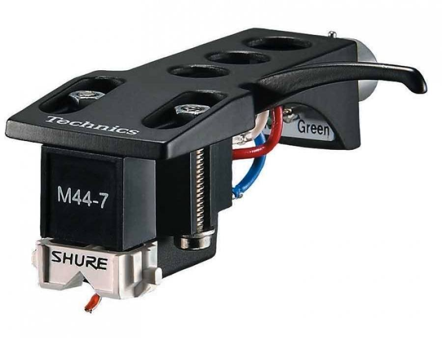 The Shure M44-7 DJ cartridge